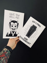 Load image into Gallery viewer, M.C.R - Give em hell kid & Helena Print - Happy Emo