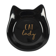 Load image into Gallery viewer, Cat Lady Jewellery Dish - Happy Emo