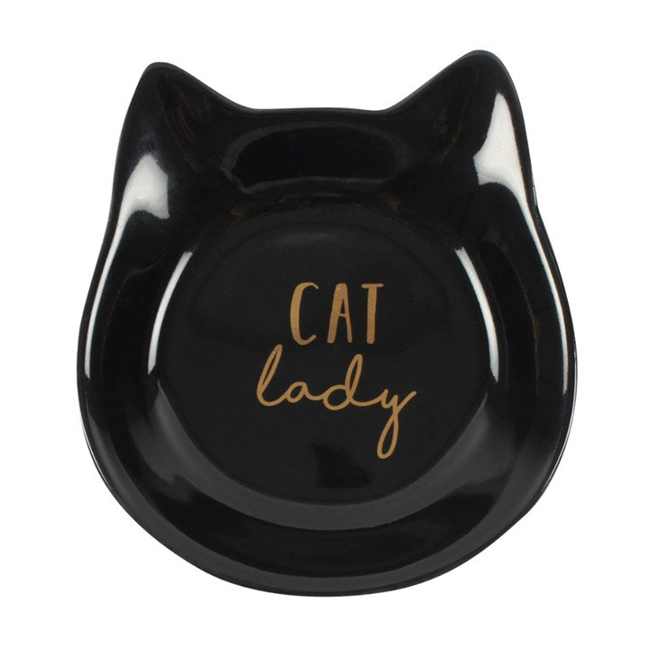 Cat Lady Jewellery Dish - Happy Emo