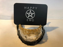 Load image into Gallery viewer, Jawbone Business Card Holder - Happy Emo