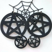 Load image into Gallery viewer, Pentagram Earrings