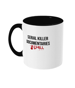 Serial Killer Documentaries & Chill Mug