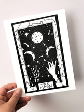 Load image into Gallery viewer, Tarot Moon A5 Art Print
