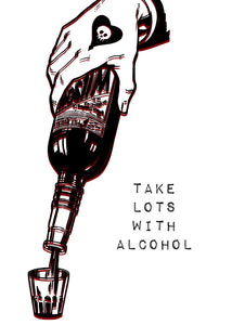 Alcohol - Print - Happy Emo
