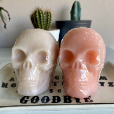 3D Skull Soap - Happy Emo