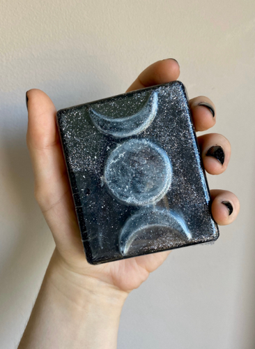 Witchy Triple Moon Soap - Happy Emo