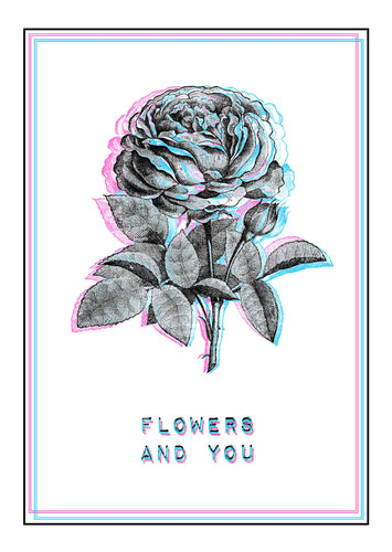 Flowers And You - Print - Happy Emo