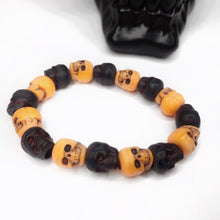 Load image into Gallery viewer, Skull Bead Bracelet