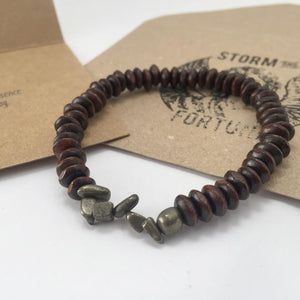 Thor - Pyrite Bracelet - For Good Luck And Success - Happy Emo