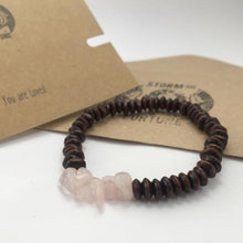 Load image into Gallery viewer, Thor - Rose Quartz Bracelet - You Are Loved - Happy Emo