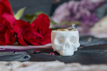 Load image into Gallery viewer, Skull Planter Extra Small - Happy Emo