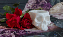 Load image into Gallery viewer, Skull Planter Medium - Happy Emo