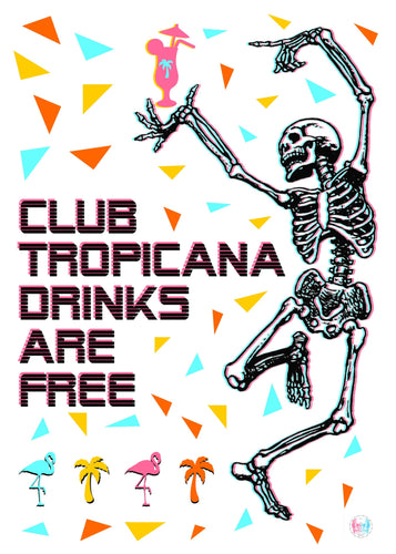 Tropicana - Print - Happy Emo