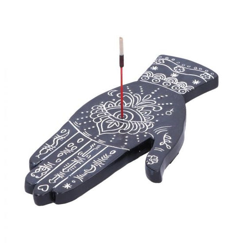 Hamsa Hand Incense Burner - Happy Emo