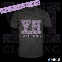 Load image into Gallery viewer, YHC X Happy Emo Tee - Happy Emo