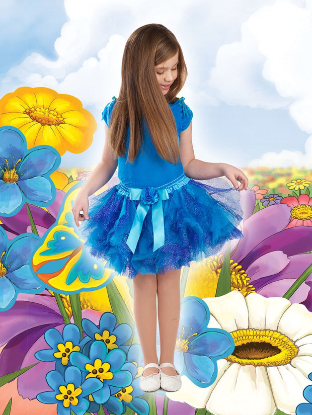 Leanne Collection Tutu - Turquoise/Royal