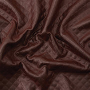 Yaya Han Collection Pleated Pleather Brown