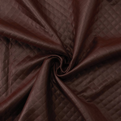 Yaya Han Pleated Pleather Brown