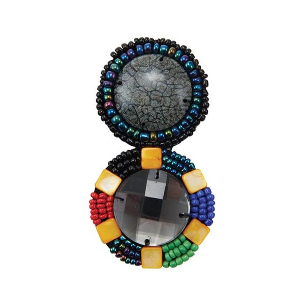 Multi-Colored Malindi Bead Sew-On Accent/Embellishment