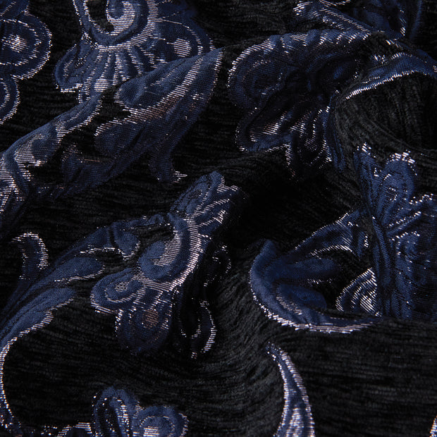 Yaya Han Collection Metallic Floral Brocade Velvet