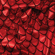Yaya Han Collection Holographic Dragon Scale Red