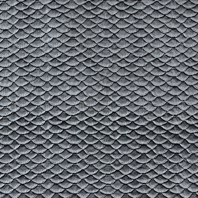 Metallic Textured Scales Silver