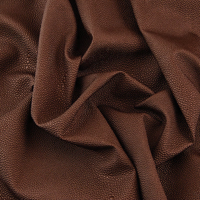 Yaya Han Collection Brown Pebbled Leather