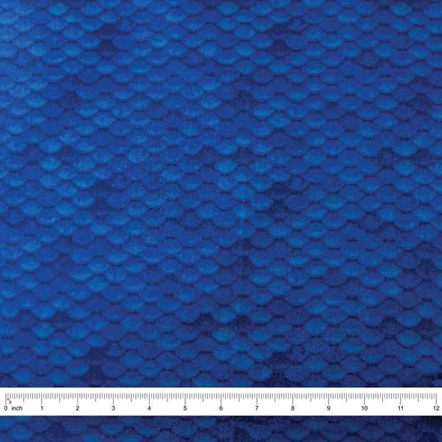 Yaya Han Collection Holographic Mermaid Scales, Blue
