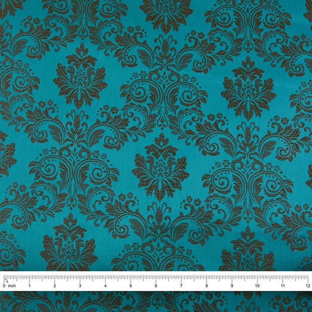 Yaya Han Collection Regal Brocade, Turquoise