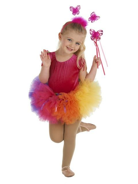 Birthday Tutu Fuchsia/Purple/Lime/Turquoise/Sunshine/Orange