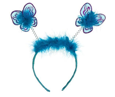 Butterfly Boppy Turquoise and Purple