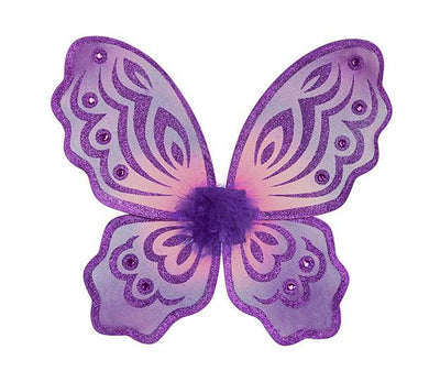 Butterfly Wings Purple and Fuchsia