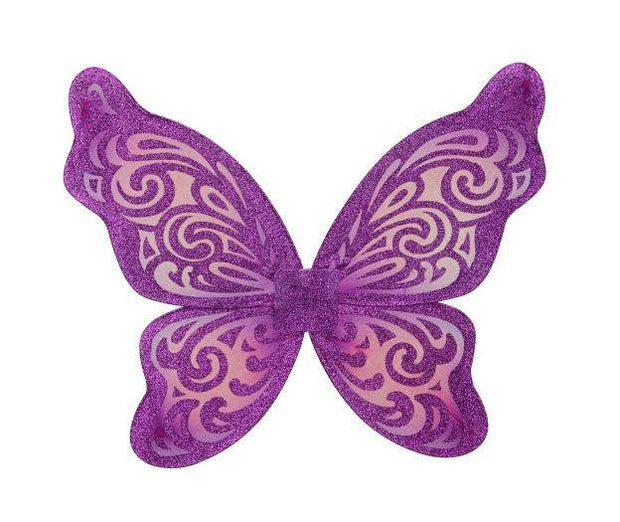 Flutter Wing Purple and Fuchsia