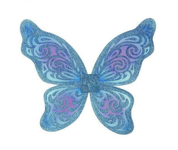 Flutter Wings Turquoise and Purple
