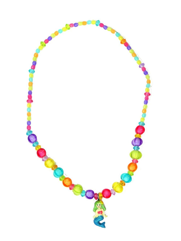 Multi-color Mermaid Necklace