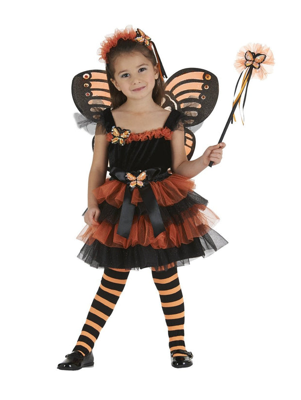 Monarch Butterfly Ruffled Tutu