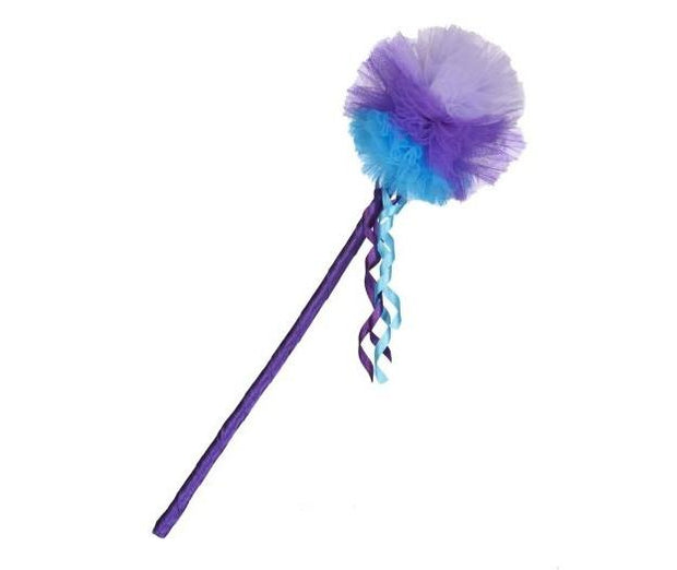 Peggy Wand Purple and Turquoise