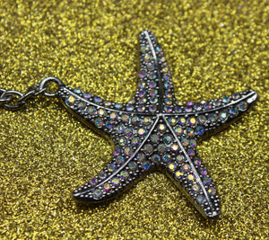 Twinkle Starfish Key Chain