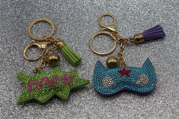Vivid Key Chains