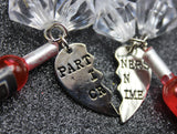 Partners In Crime Duo Keychain Set
