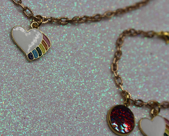 KIDS: Rainbow Heart Set