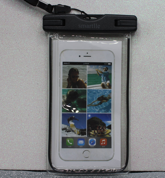 Exclusive Water Proof Cell Phone Holder: Black