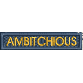 Patch - Ambitchious