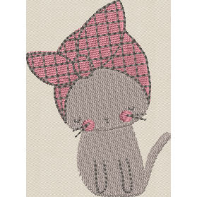 Bandanna Kitty 4X4