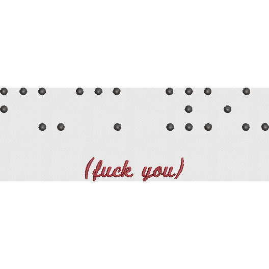 Braille Fuck You