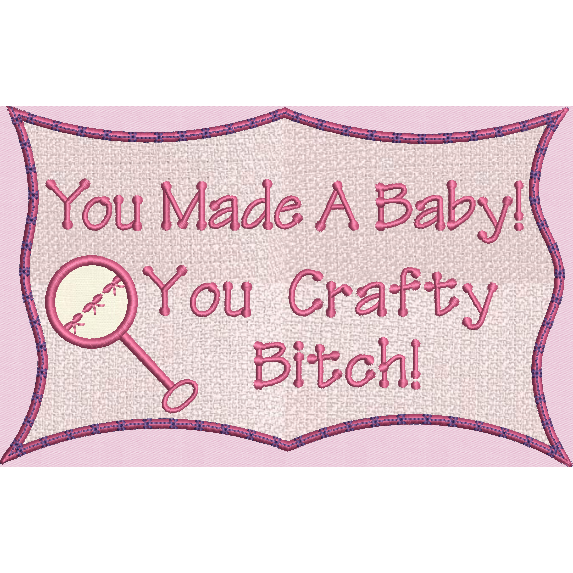 Crafty Baby Applique