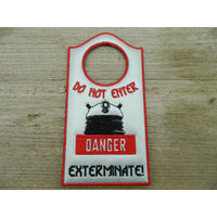 Door Hanger - Dalek