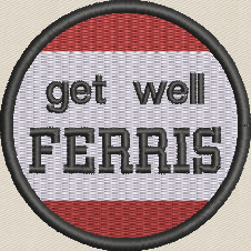 Patch - Get Well Ferris