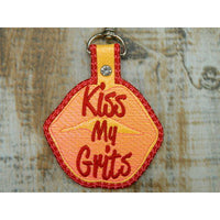 Keychain - Kiss My Grits