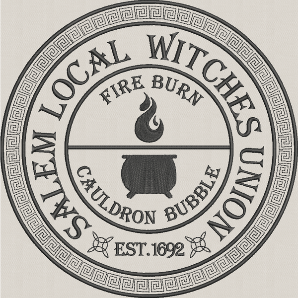 Local Witches Union - Large Hoop
